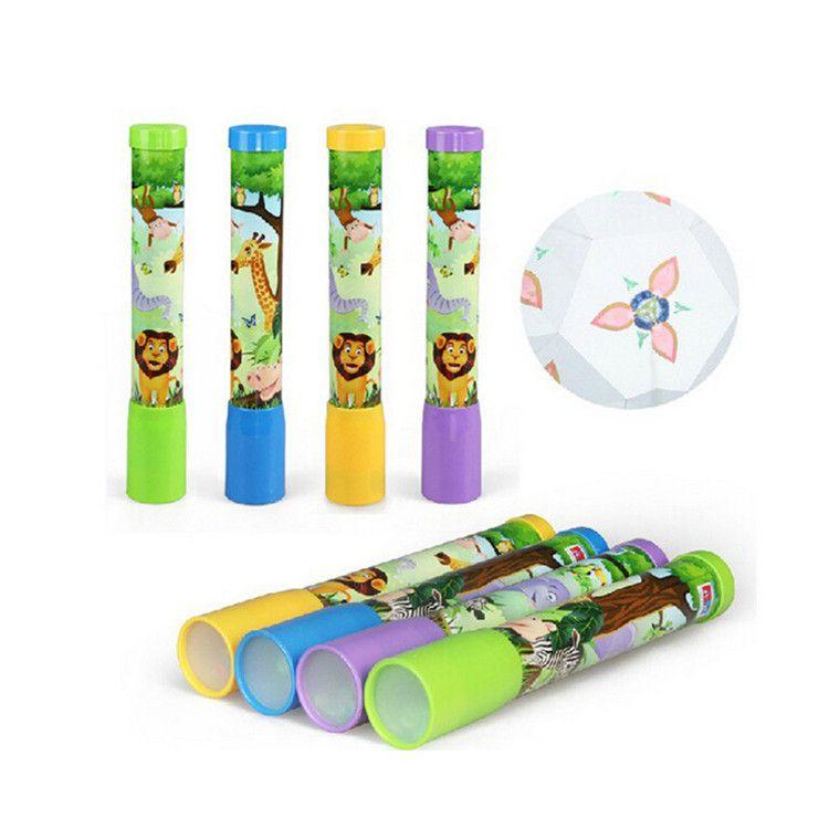 【旅游工艺品批发】大号塑料内景万花筒 儿童玩具 旋转万花筒