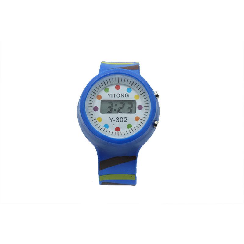 糖果色儿童塑胶手表 潮流新颖彩色数字电子学生表支持加工定制
