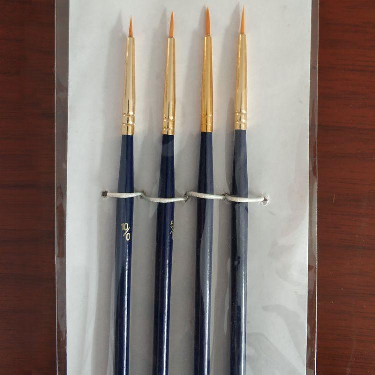 厂家供应尼龙勾线笔描边笔美甲笔水粉水彩笔油画笔特细美术批发
