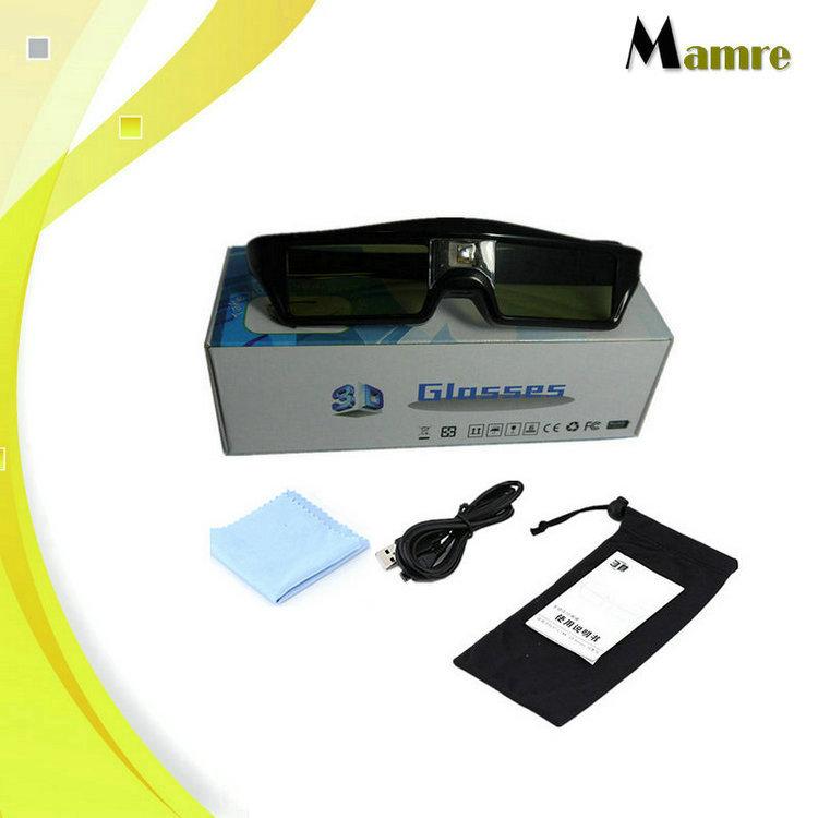 亚马逊爆款主动快门式3D眼镜dlp投影仪专用极米明基等投影机通用