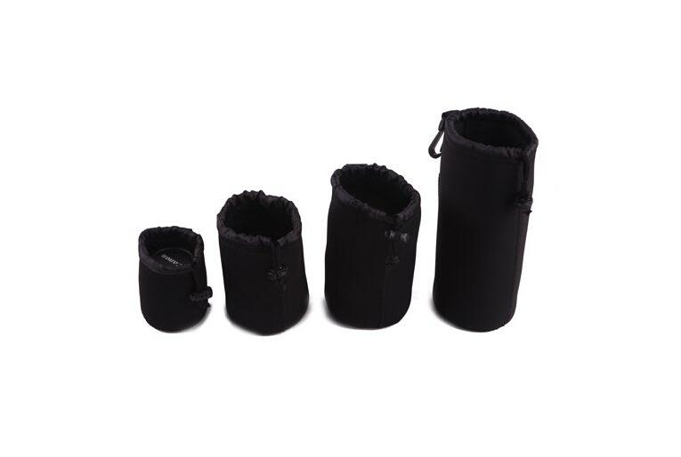 厂家供应  马田 相机镜头袋 镜头筒 镜头包 无字镜头袋
