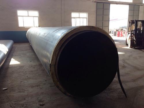 厂家直销预制聚氨酯保温管 直埋螺旋聚氨酯保温管规格定制