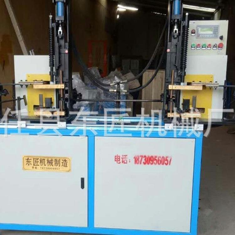 东匠机械供应止水螺杆穿墙丝自动焊机 穿墙丝全自动焊中间片焊机