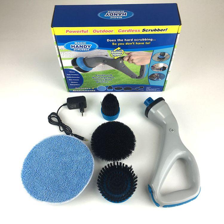 新款Muscle scrubber 龙卷飓风清洁刷 电动清洁刷 Handy scrub