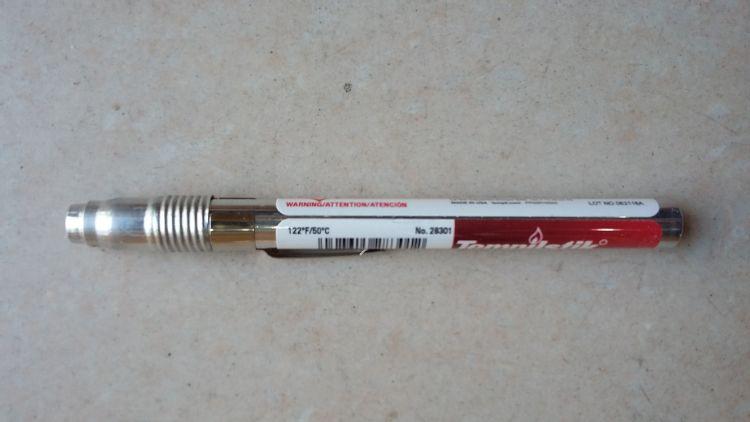 美国天宝Tempil 焊接测温笔 Tempilstik 150度 温度蜡笔 特价