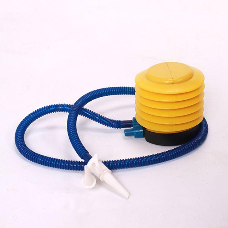 批发气球游泳圈打气筒 充气脚泵 塑料脚踩打气筒 脚踏充气泵