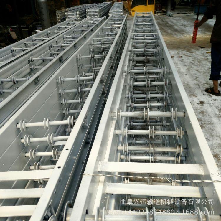 饲料加工输送线平板输送线电动滚筒输送线
