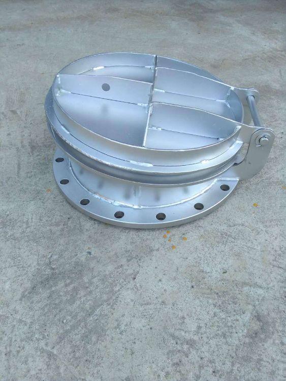 厂家直销优质轴流泵配套  圆形不锈钢拍门铸铁拍门欢迎定制生产