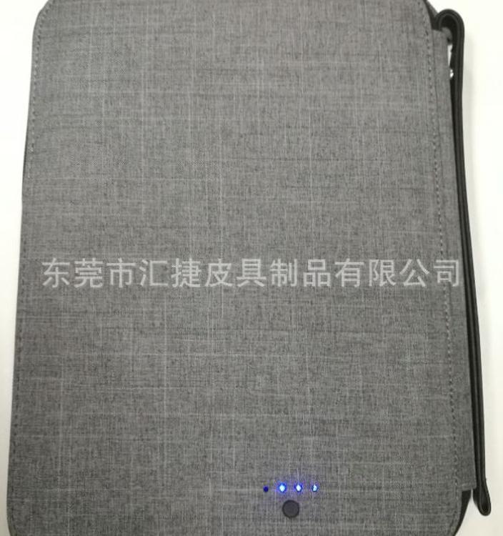 定制充电宝笔记本、培训活动礼品、工作日记、手提拉链文件夹