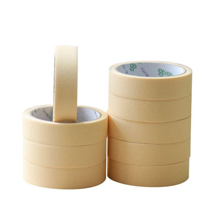 佰冠厂家直销定制外墙遮蔽纸喷油漆装饰美纹纸胶带批发价格