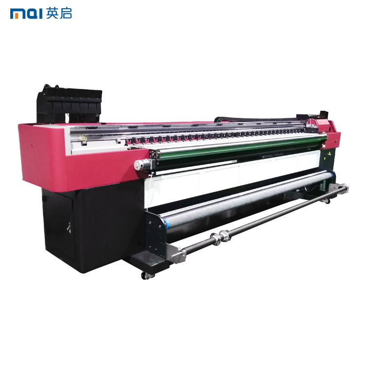 3.2m Flat and Roll UV Printer with UV LED Lamp