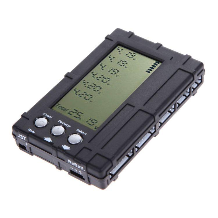 高精度电显 三合一 锂电池2S-6S测电器 平衡器 电压显示器 放电器