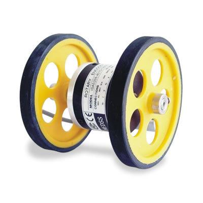 瑞普海德编码器/计米轮纺织机双滚轮织布机机编码器带轮子200MM