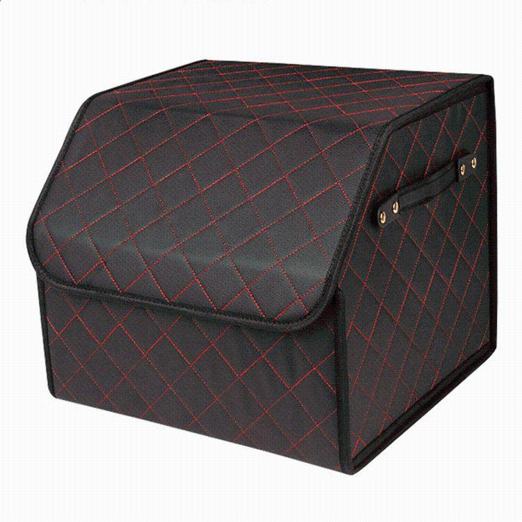 厂家批发车载家用收纳箱 杂物折叠整理箱 置物箱可定制加LOGO