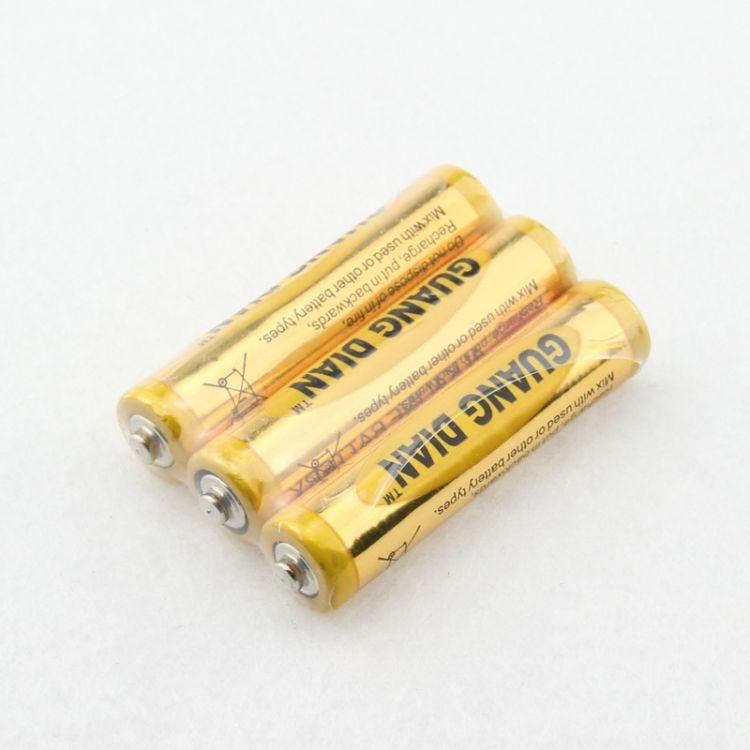 高性能7号干电池 强光手电筒用