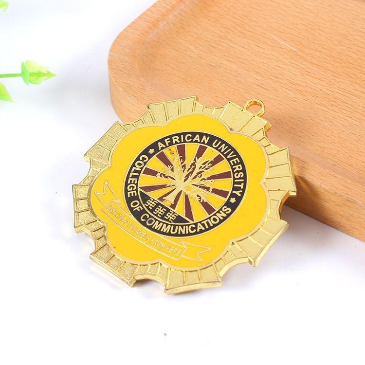 创意锌合金奖牌 订制奖品 来图定制