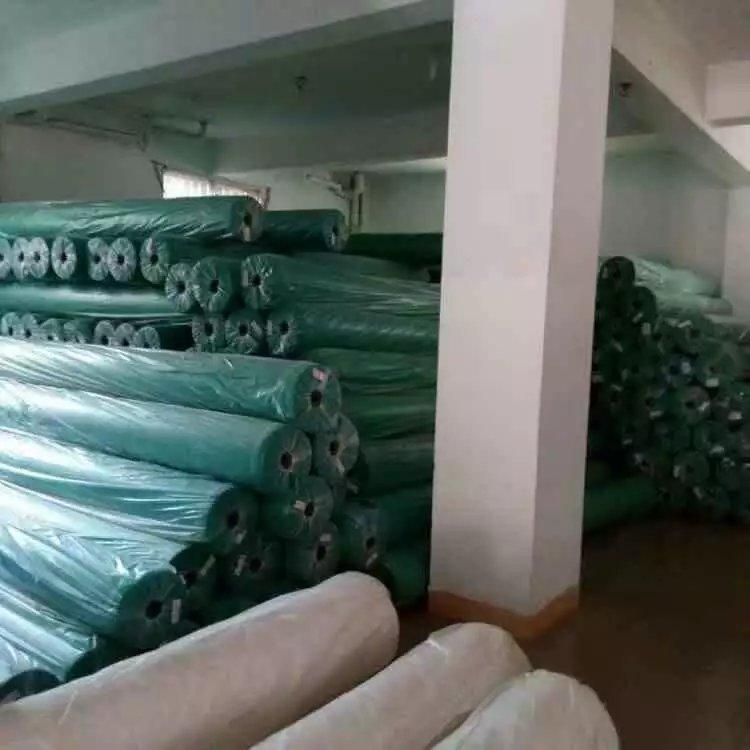 厂家直销漳州绿色绿色护坡盖土用无纺布 防尘布 绿化无纺布防尘布