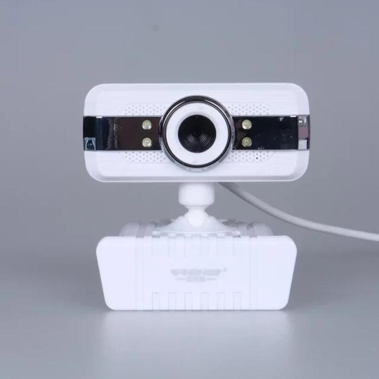 银精灵夹子款摄像头 免驱高清台式电脑视频 笔记本摄像头 批发