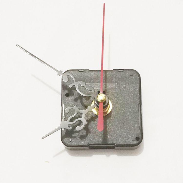 T 厂家直销 十字绣装裱石英钟挂钟机芯 静音扫秒电子钟表芯批发