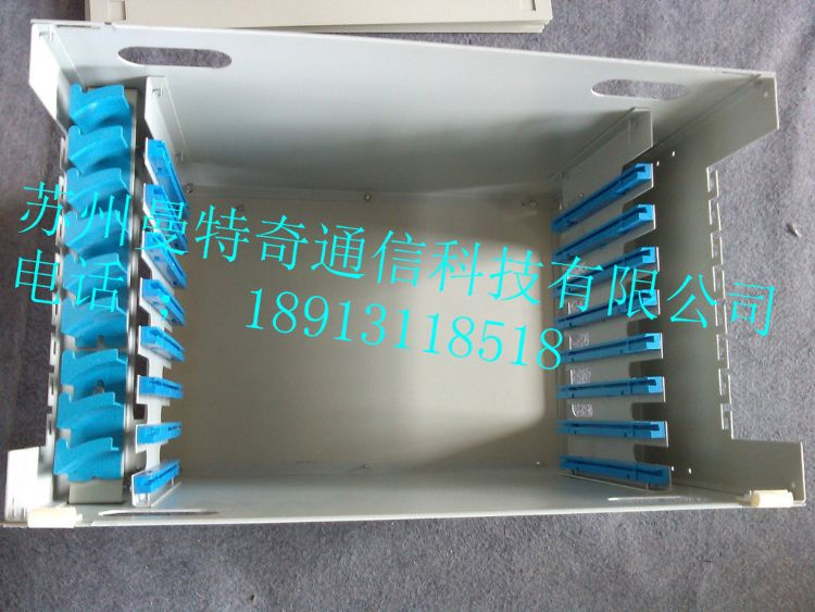 厂家直销 ODF光纤配线箱 12芯-144芯ODF单元箱配线架 空箱