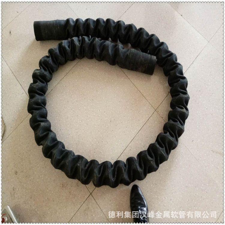 德利伸缩胶管-橡胶波纹管-夹布伸缩胶管-通风吸尘胶管