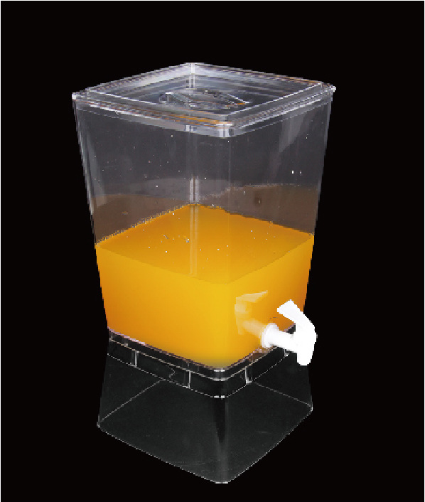 自助餐餐具方形果汁饮料机商用冷饮机豆浆桶单头果汁鼎 牛奶鼎