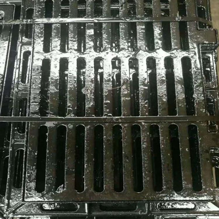 球墨铸铁盖板 400*500铸铁盖板 球墨铸铁篦子 排水沟铸铁盖板篦子