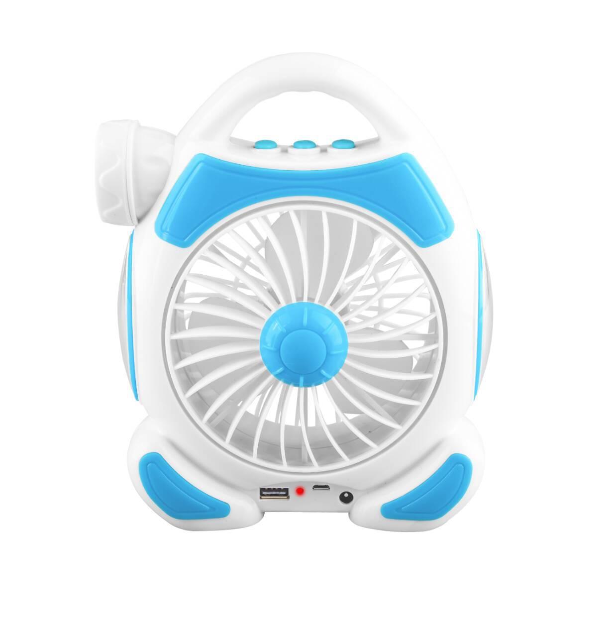 USB风扇迷你可充电学生宿舍寝室床上静音台灯办公室小电风扇