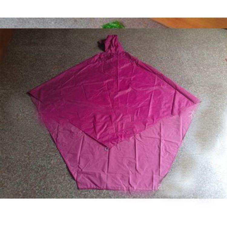 厂家直销成人PVC雨衣 电动车雨披 单车雨披雨衣批发