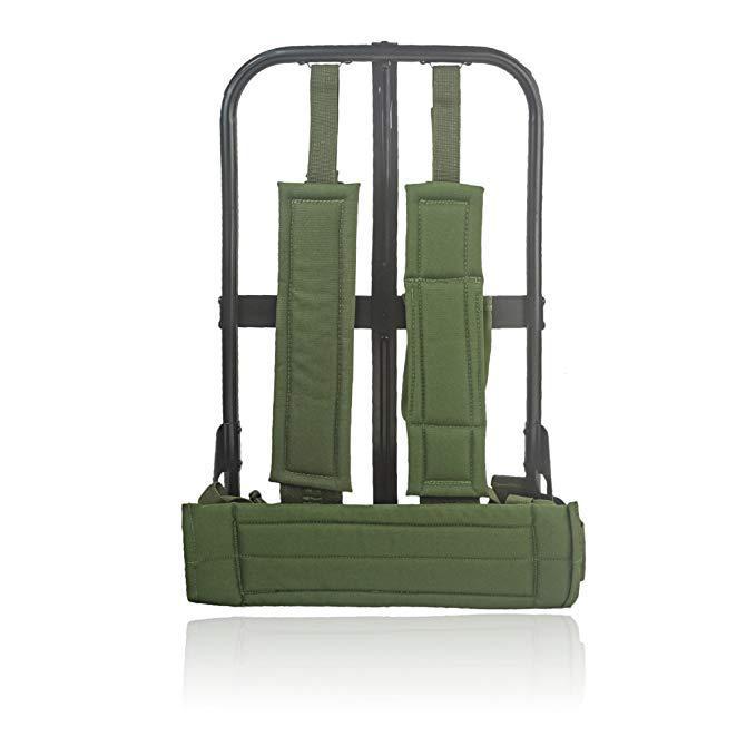 生产欧美军队部队制式高强度负重野战行铝合金或铁质背包架子支架