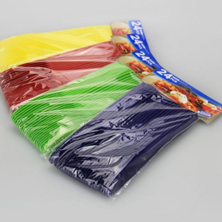 厂家直销塑料餐具套装 甜品蛋糕一次性刀叉 儿童塑料餐具刀子
