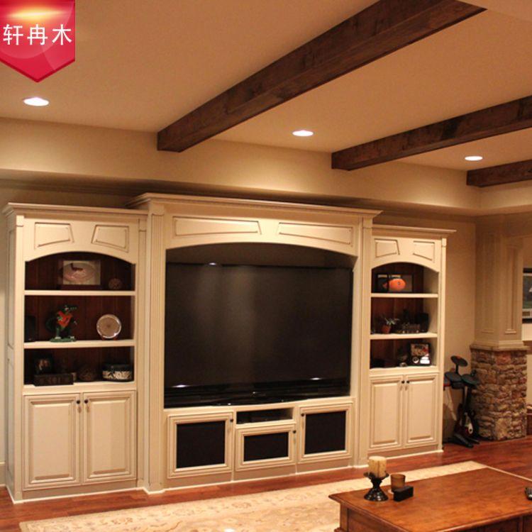 轩冉木 电视柜书柜 中式客厅卧室 茶几餐桌房 实木可加工 定制