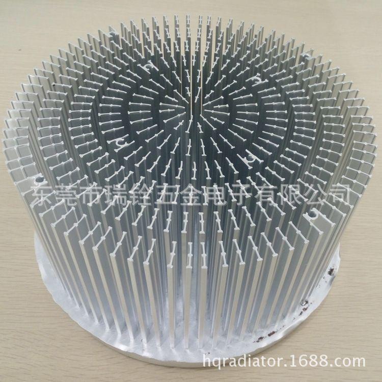 厂家生产大功率LED散热器 LED工矿灯UFO冷锻散热器