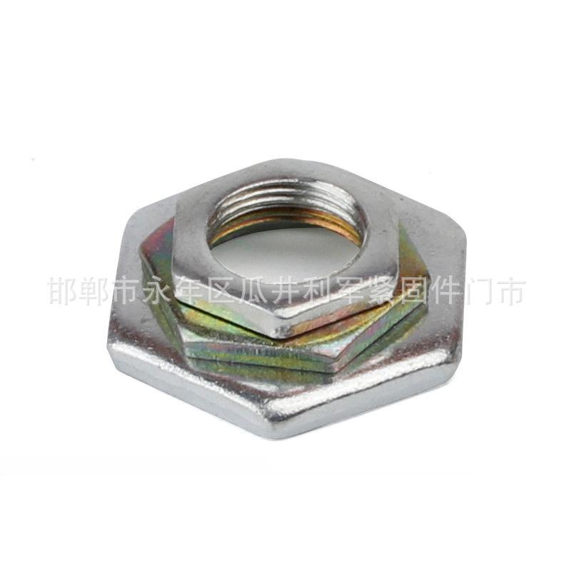GB/T 808 小六角特扁细牙螺母304不锈钢细牙螺母镀彩特扁细牙螺母 厂家直销