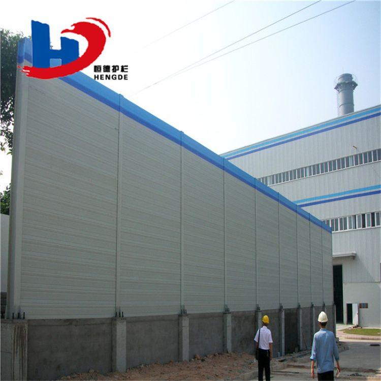 工厂现货 小区声屏障厂家 工厂厂房隔音降噪 商场空调机组隔声屏障