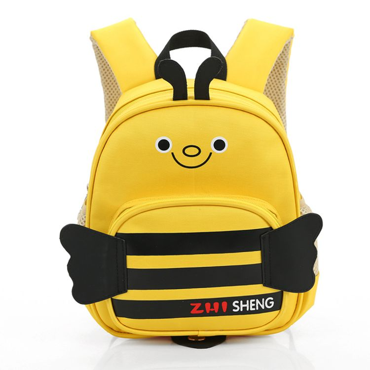 厂家直销新款1-3岁宝宝书包卡通可爱幼儿园小学生双肩包防水减负