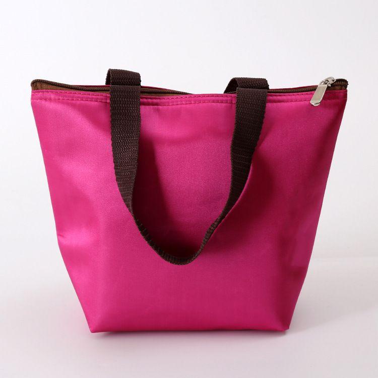 厂家直销纯色防水丝光格购物袋环保袋定制织带手提袋可开增票
