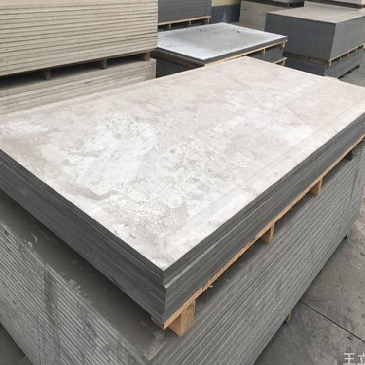 供应高强度纤维隔音水泥压力板 厂家批发隔音防热耐潮水泥压力板