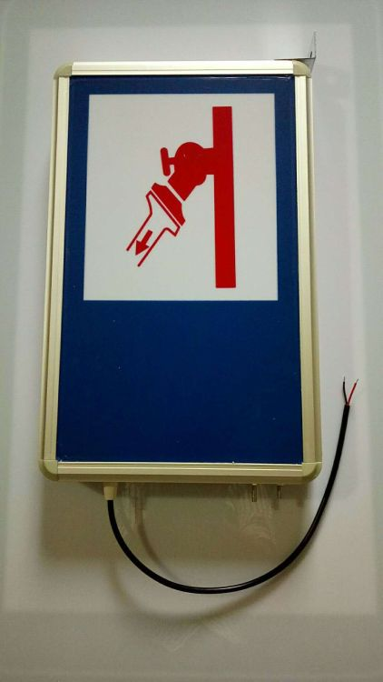 隧道电光标志LED消防栓标志灯紧急电话人行车行横洞工厂直销