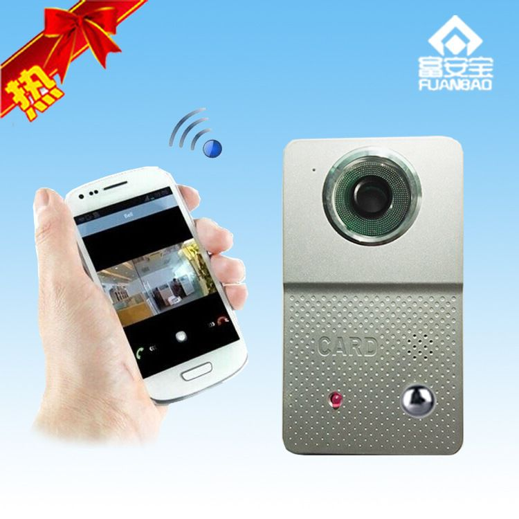 无线WIFI可视门铃 对讲门铃 可视对讲 智能楼宇 安防报警系统