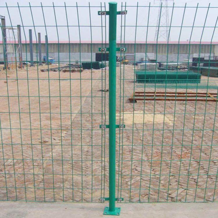 护栏网 铁丝网 双边丝护栏网  道路铁路防护网 现货供应支持定制