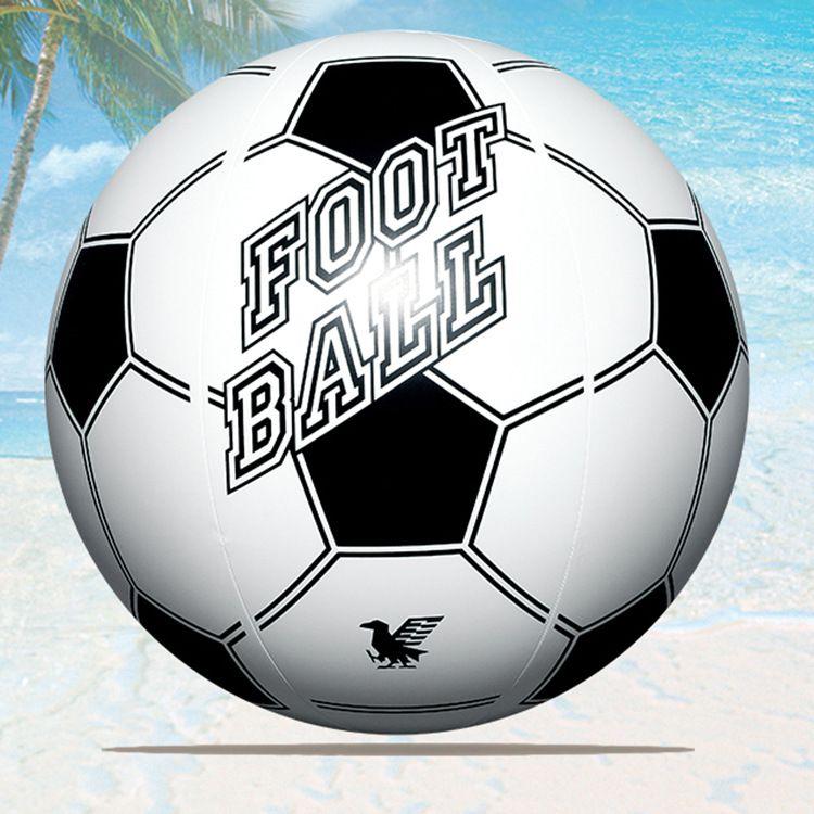 日本五十岚40cm环保PVC塑胶足球 充气沙滩球儿童水上玩具现货直销
