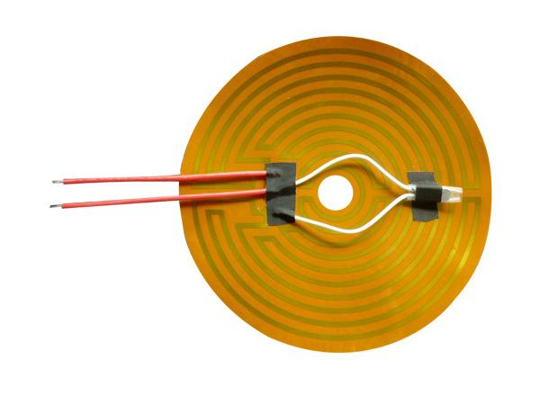 PI电热膜定制(卷发器用等发热元件)