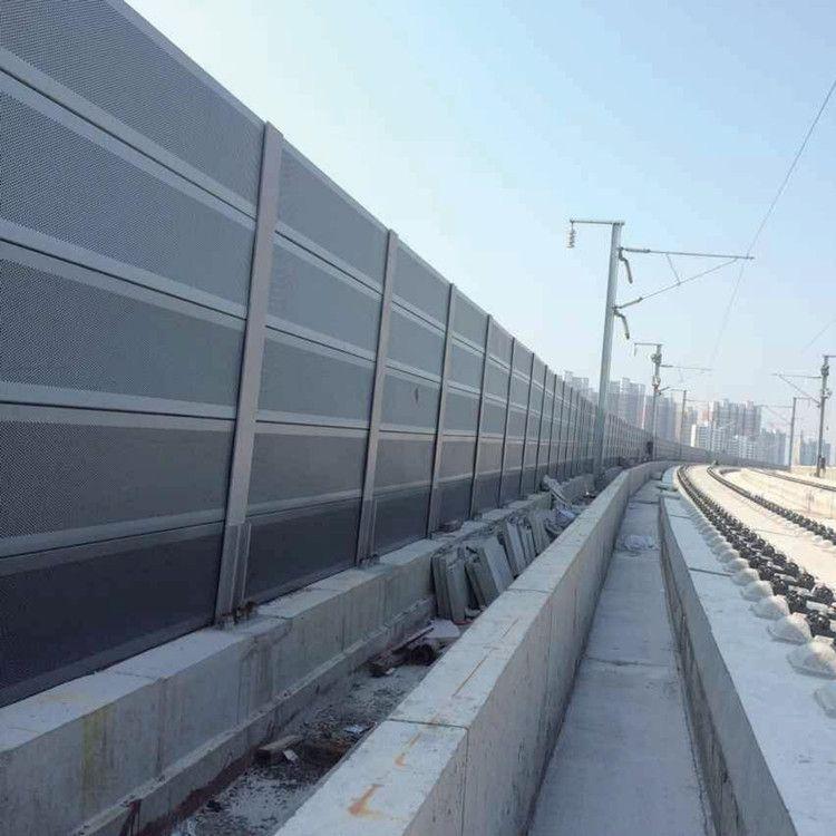 厂家供货工业工厂声屏障电厂噪音半透明复合型声屏障可加工定制