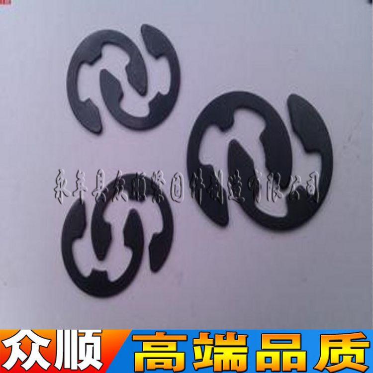 自产自销批发各种型号规格开口挡圈孔用挡圈轴用挡圈止退垫