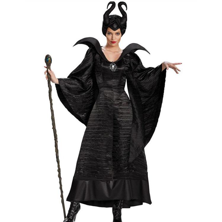 2404欧美热销圣诞演出服万圣节魔咒游戏制服女巫服饰套装厂家直销