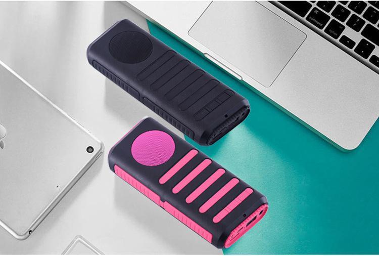 蓝牙音箱移动电源 多功能迷你三合一音响手机充电宝成品及套料