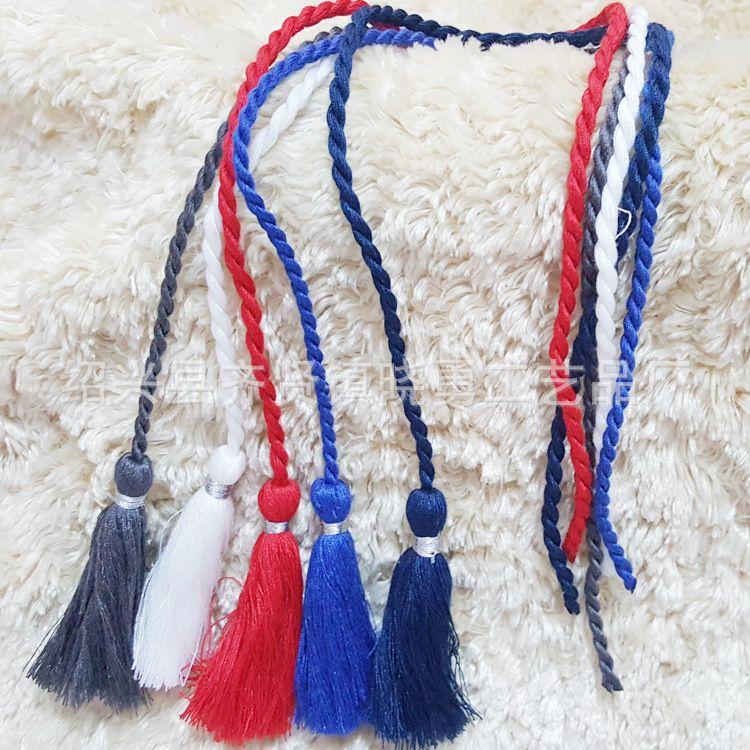 长期销售 棉线吊穗 diy饰品工艺须吊穗 布艺家居软装配件