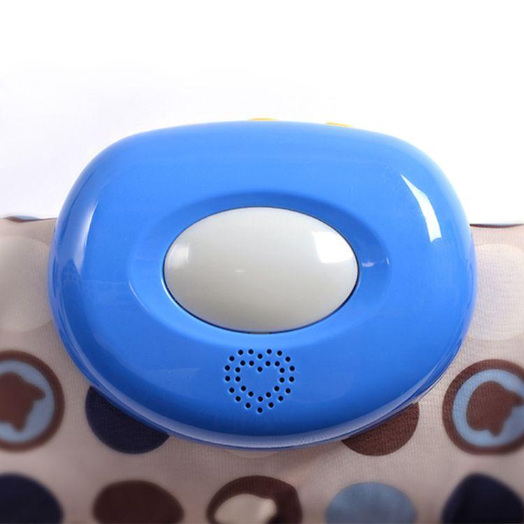 朗尼贝婴儿床铃音乐盒 游戏床音乐盒震动器玩具 床挂配套礼品赠品