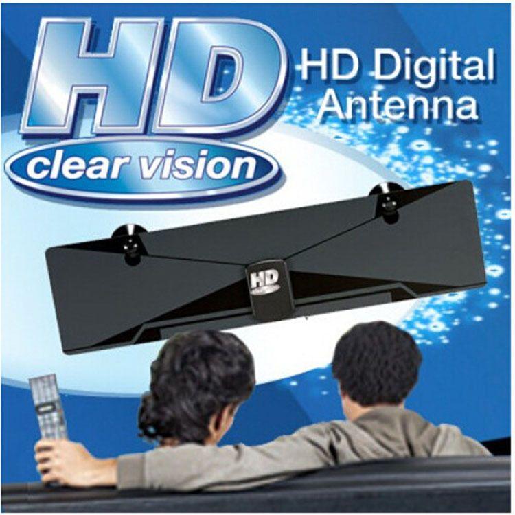 HD Clear Vision Digital Antenna 电视天线卫星接收器 吸盘固定